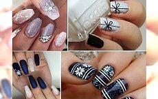 Zimowy manicure! przepiękne wzorki, dzięki którym poczujesz mroźny klimat