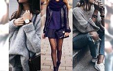 Gwóźdź programu: SWETER. Z czym go zestawić? Przegląd sprawdzonych, kobiecych stylizacji ze swetrami!