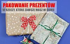 3 Pomysły na kreatywne spakowanie prezentu - w rzeczy, które ZAWSZE masz w domu!