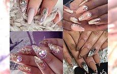 Bling Bling! Niesamowicie błyszczący manicure z kryształkami Swarovskiego