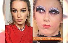Maffashion powtórzyła ten sylwestrowy makijaż! Kto wygląda w nim GORZEJ?