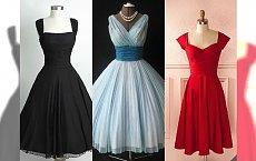 Sukienki retro na Sylwestra 2016/2017! Stylowy powrót do przeszłości