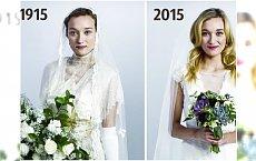 Zobacz jak przez lata zmieniała się moda na SUKNIE ŚLUBNE! Jak wyglądały kiedyś ?