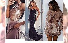 Cekinowe suknie na Sylwestra: szukamy idealnej kreacji!