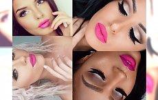 Słodki makijaż z różowymi ustami. Ożyw i odświeź swój look na zimę!