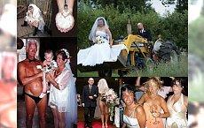 OMG! 35 mega dziwnych zdjęć ślubnych! Czegoś takiego jeszcze nie widzieliśmy... Zdjęcie nr 19 to prawdziwy hardcore!