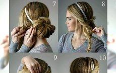 WOW! Instrukcje krok po kroku, jak zrobić fryzurę idealną na święta lub Sylwestra!