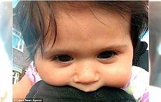Ma 8 miesięcy i włosy do ramion! Gdy przyszła na świat, wyglądała jakby miała perukę
