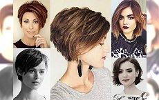 25 krótkich i półkrótkich fryzurek, które pokochasz! Gorące trendy 2017!