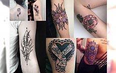 25 niesamowicie kobiecych tatuaży - skarbnica hipnotyzujących motywów 2017!