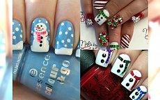 Pomysły na oryginalny zimowy manicure. Śpiesz się, póki trwa zima :) Nr 3 zapragniesz mieć od razu!
