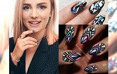 Marzysz o takich hybrydach, jakie ma Maffashion? Geometric nails to hit 2017!
