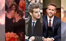 Złote Globy: GORĄCY POCAŁUNEK Ryana Reynoldsa i Andrew Garfielda! Musicie to zobaczyć!