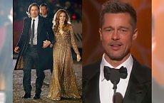 Złote Globy: Brad Pitt powrócił po rozstaniu z Angeliną Jolie! Wyglądał ŚWIETNIE. Oklaski mówią wszystko