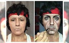 Kobieta, która potrafi przemienić się w dosłownie każdego...Potęga makijażu po raz kolejny Cię zaskoczy!