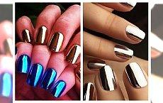 Efekt lustra na paznokciach to idealny pomysł na karnawał! Duża galeria inspiracji