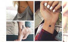 Piękne, kobiece i subtelne... czyli małe tatuaże dla każdej z Was!