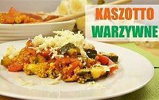 Kaszotto z warzywami i serem - przepyszny wege obiad!