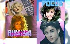 Justin Bieber, Rihanna, Ariana Grande - TAK  brzmiałaby ich muzyka w latach 80-tych!