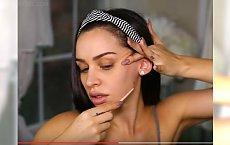 Vlogerki polecają kobietom regularne golenie twarzy. Po co? Zobaczcie efekty