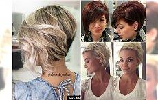 Modne fryzury dla włosów do ucha - GALERIA najlepszych inspiracji