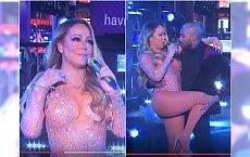 Ale wpadka! Mariah Carey dała plamę na sylwestrze w Nowym Jorku. Tego po doświadczonej diwie chyba nikt się nie spodziewał