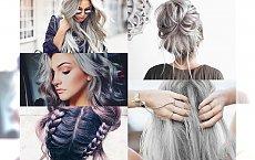 SILVER HAIR - Po obejrzeniu tej galerii zapragniesz srebrzystej koloryzacji. Tylko dla odważnych i z charyzmą!