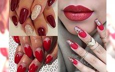 RED NAILS - najpiękniejsze stylizacje paznokci z czerwienią w roli głównej. Rozgrzeją w największy mróz!