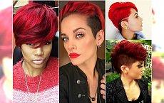 Krótkie fryzury i soczysta rudość - zakochacie się w tym duecie!