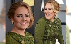Adele triumfowała na gali Grammy, a jak wyglądała? BARDZO SKROMNIE!