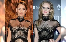 Paulina Sykut i Olga Kalicka w takich samych sukienkach. Wyglądały ZUPEŁNIE inaczej. Która lepiej?