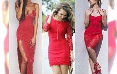 Walentynki 2017: Czerwona koronkowa sukienka. Nic tak nie rozpali jego wyobraźni!
