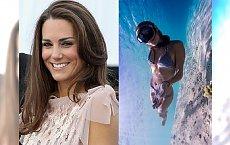 Kate Middleton instruktorką podwodnej jogi? Wow, zdjęcia są niezwykłe!