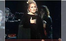 WPADKA na GRAMMY! Adele zaczyna śpiewać, a publiczność nie wierzy własnym uszom. Zjadła ją trema?