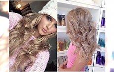 Nude blonde - cielisty odcień blondu jest supermodny! Zobaczcie, jak wygląda na włosach