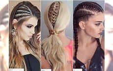 Modne fryzury z warkoczem na imprezy, studniówki, wesela. Propozycje dla długich i półdługich włosów