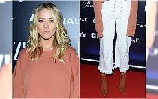 Jessica Mercedes na pokazie Bizuu: obcięta bluza, za długie rękawy i za krótkie spodnie. Jak to wygląda?