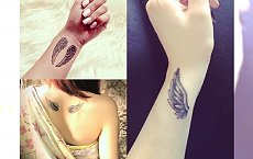 Tatuaż, który doda Ci skrzydeł! Najpiękniejsze inspiracjie