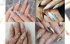 BLING BLING! Inspiracje na manicure dla kobiet, które lubią być w centrum uwagi