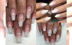 Najpiękniejsze stylizacje paznokci MILK OMBRE - pokochasz je za delikatność
