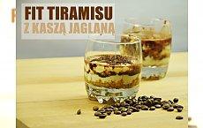 Zdrowsza wersja tradycyjnego tiramisu - deser z kaszy jaglanej