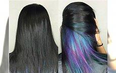 HOT TREND w koloryzacji włosów: underlights - ukryty kolor. Jak oceniacie ten efekt?