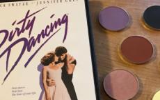 """Paleta cieni inspirowana filmem """"Dirty Dancing"""" JUŻ NIEDŁUGO W SPRZEDAŻY!"""