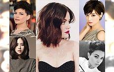 Propozycje fryzur dla krótkich i półdługich włosów! Śliczne, modne i ultrakobiece inspiracje dla brunetek