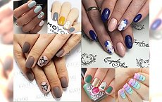 TOP 24 inspiracje na manicure, jak z najlepszego salonu - HOT TRENDY 2017!