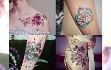 Charyzmatyczne jak nigdy wcześniej! Najbardziej stylowe motywy tatuażu 2017! [GALERIA TRENDÓW]