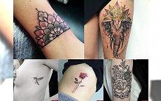 16 wyjątkowo CHARYZMATYCZNYCH tatuaży! GALERIA TRENDÓW 2017!
