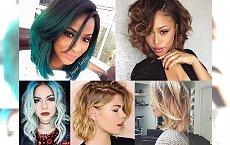 Fryzury dla włosów średniej długości - TOP 17 uroczych inspiracji!
