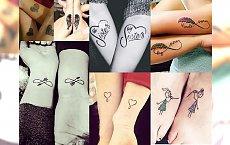 Tatuaże dla przyjaciółek i sióstr, które podkreślą Waszą silną więź! Co za CUDEŃKA!