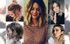 Przegląd fryzur dla półdługich włosów - postaw na najnowsze trendy 2017!